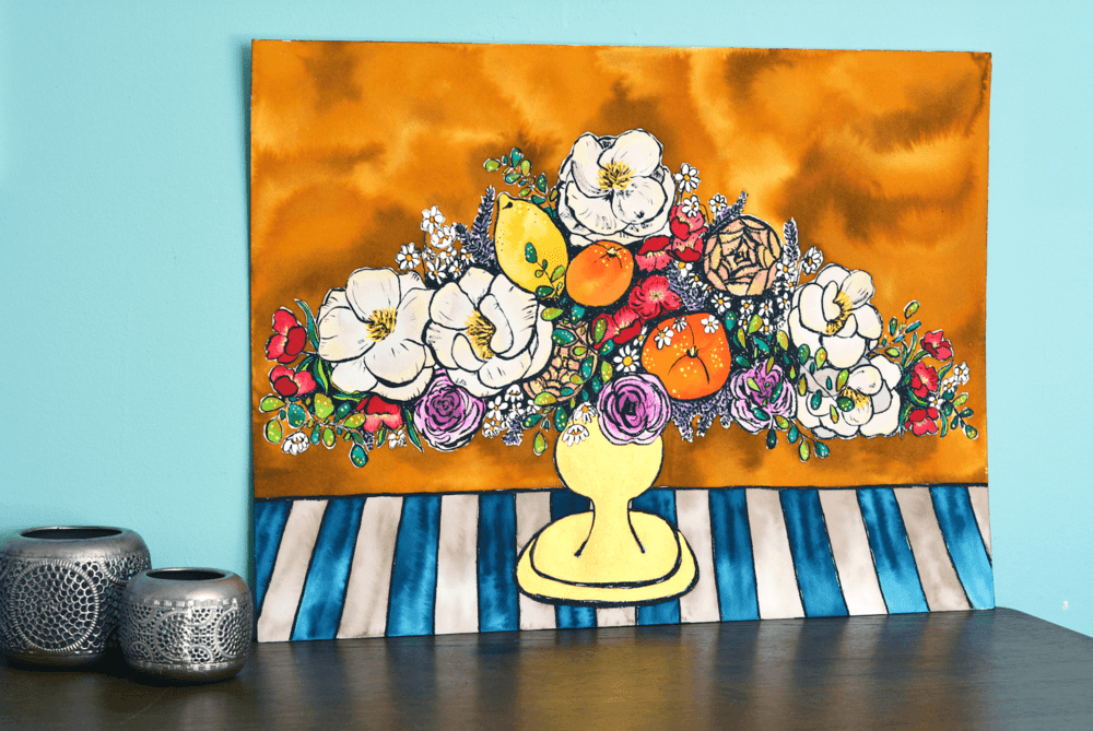 Eloise | Blomster Collection | SOLD - Jordan McDowell - art print - painting - home decor