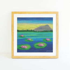 "Load image into Gallery viewer, ""Lily 009"" Square Fine Art Print"