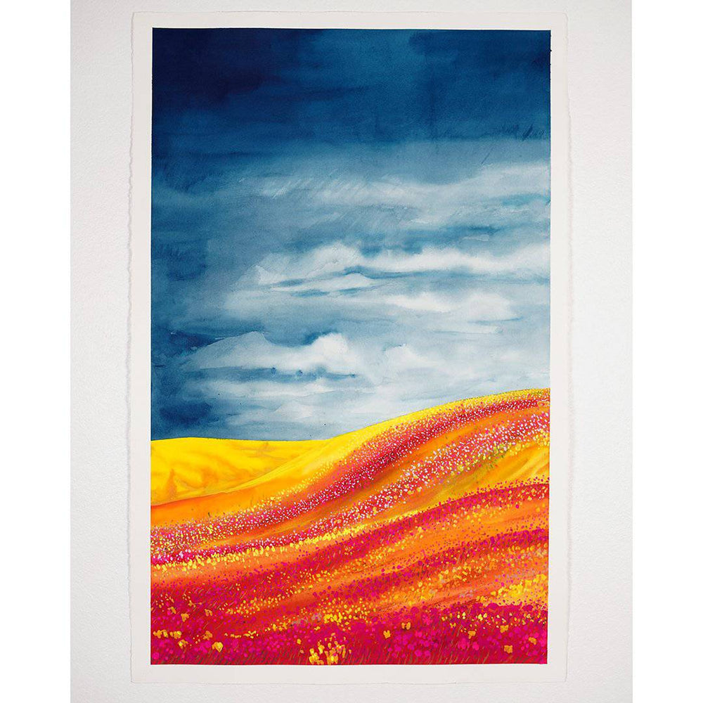 Phoenix | Stormy Fields Collection | SOLD - Jordan McDowell - art print - painting - home decor