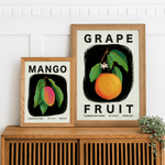 Bundle Pack of Three 8x10 inches Flowering Fruit Posters - Jordan McDowell - art print - painting - home decor