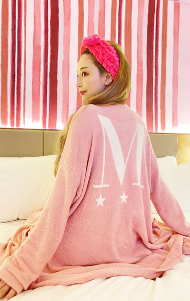 Melty cardigan/PINK