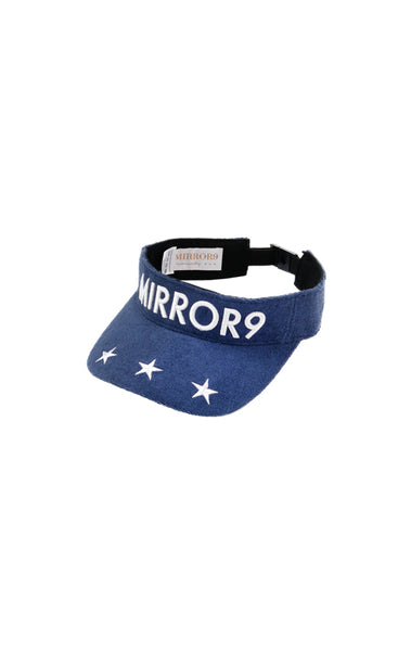 【MIRROR9GOLF】 Pile sun visor/NV