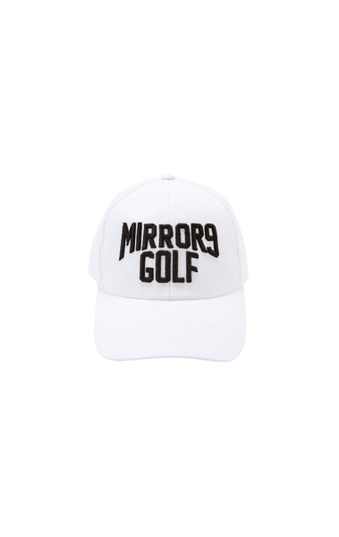 【MIRROR9GOLF】 Logo cap/2color