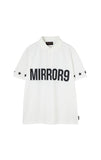 【MIRROR9GOLF】Men's Logo polo shirts/2color