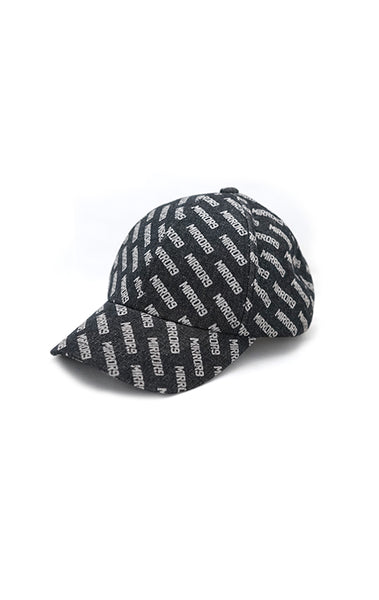 【30%OFF】 Logo pattern denim cap