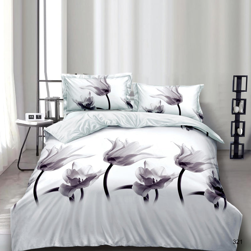 3D Duvet Covers Set With Matching Pillows & Sheet