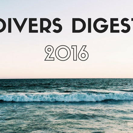 End of the Year Divers Digest: the Highlights of 2016