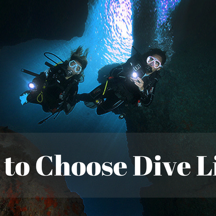 Let There Be Light: How to Choose Dive Lights