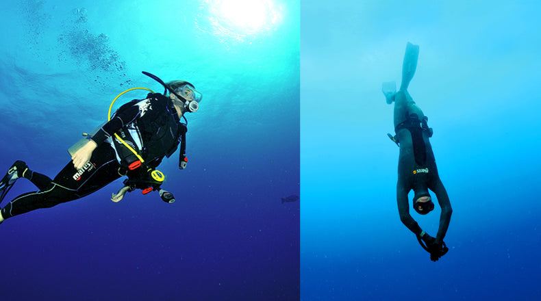 Scuba vs. Freediving or Why You Should Ditch the Tank