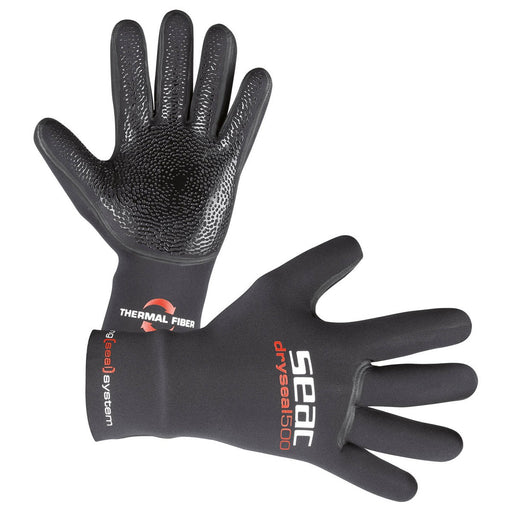 Seac 5mm Dry Seal High Stretch Premium Neoprene Diving Gloves - DIPNDIVE
