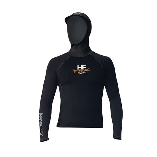 NeoSport Polyolefin Long Sleeve Scuba Hooded Rash Guard - DIPNDIVE