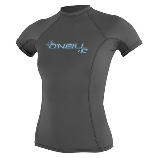 O'Neill Women's Basic Skins Short Sleeve Rash Guard - DIPNDIVE