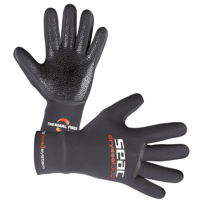 Seac 3.5mm Dry Seal High Stretch Premium Neoprene Diving Gloves - DIPNDIVE