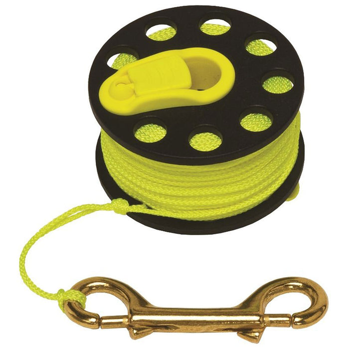 Innovative Finger Spool with Hand Winders 100 Scuba Diving Reels - DIPNDIVE