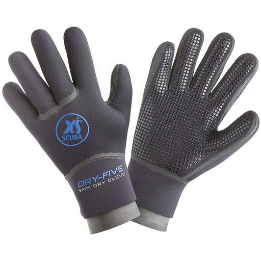 XS Scuba 5mm Dry Five Gloves - DIPNDIVE