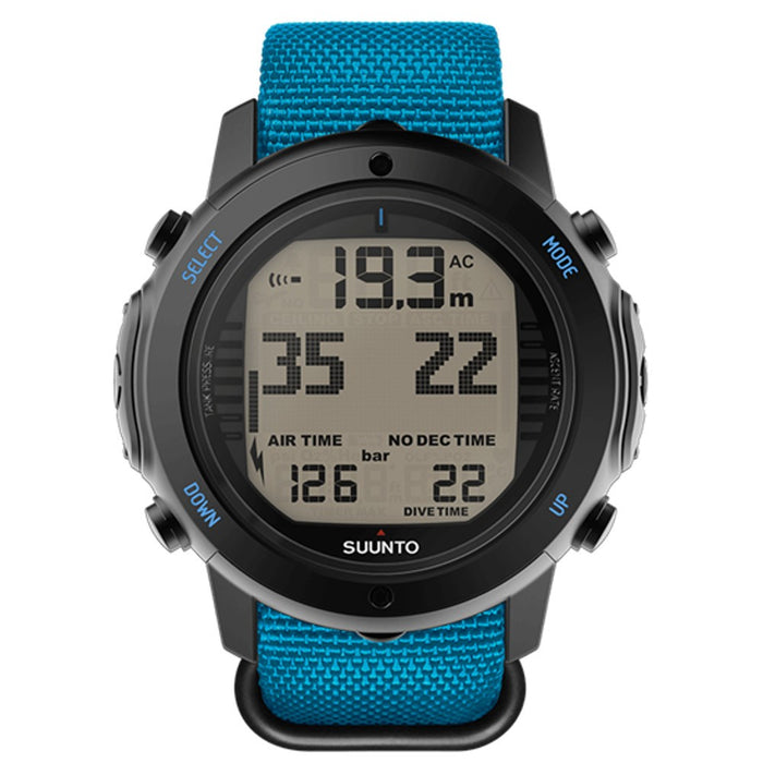 Suunto D6i Novo Zulu Wrist Computer with USB Cable - DIPNDIVE