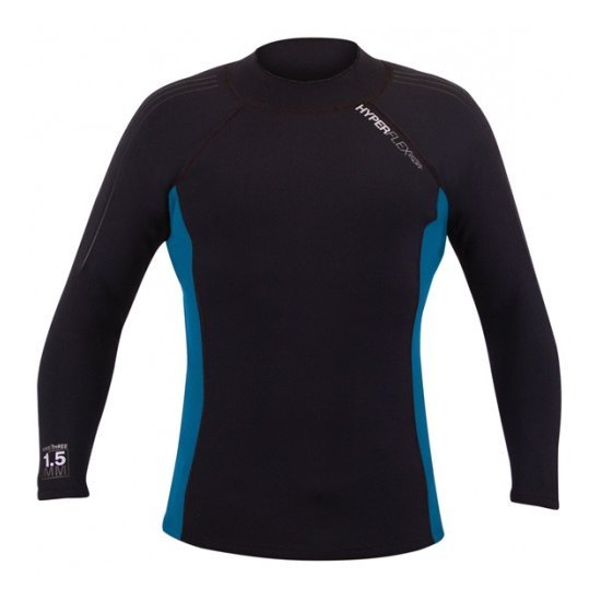 Hyperflex AMP-3 1.5mm Long Sleeve Jacket Surf Top Wetsuit - DIPNDIVE