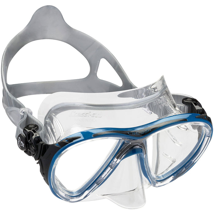 Cressi  Big Eyes Evolution Crystal Adult Size Scuba Mask