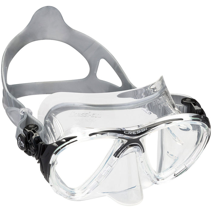 Cressi  Big Eyes Evolution Crystal Adult Size Scuba Mask - DIPNDIVE
