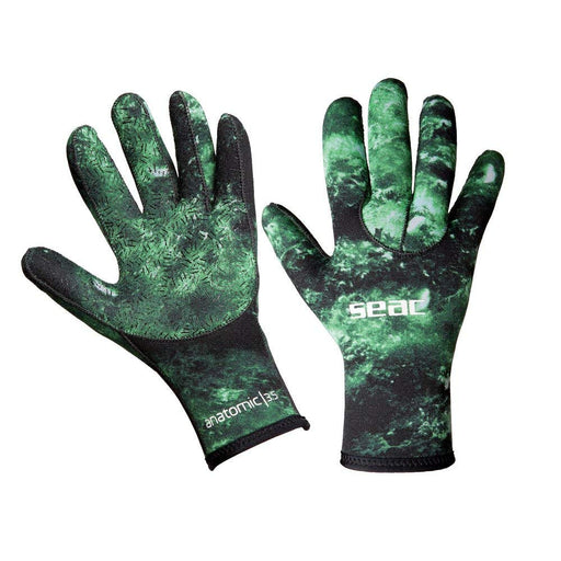 Seac 3.5mm Camo Scuba Diving Spearfishing Gloves - DIPNDIVE