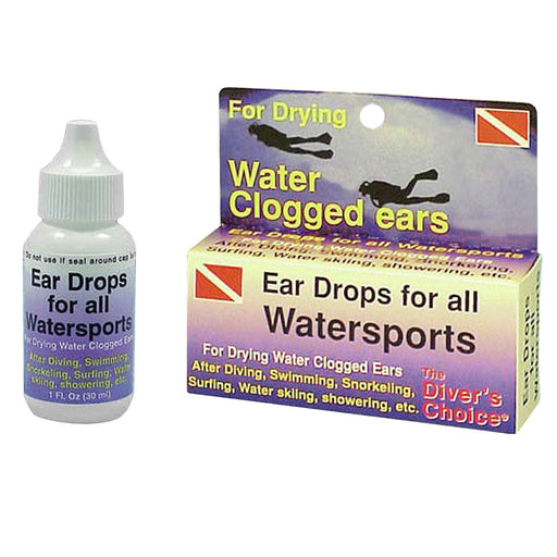 Trident Ear Drops For All Watersports - DIPNDIVE