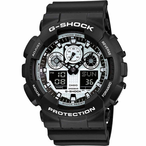 Casio G-Shock GA100BW-1A Watch - DIPNDIVE