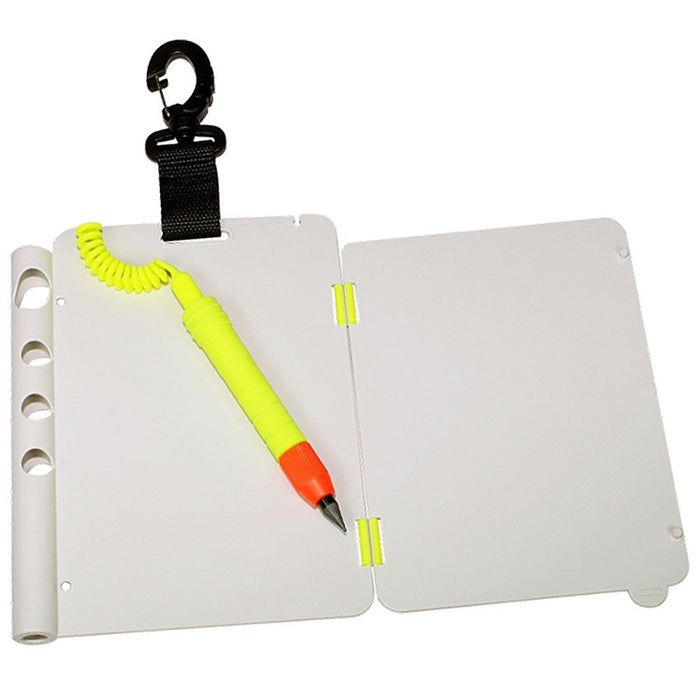 Scuba Max 2-Page Folding Slate Accessories - DIPNDIVE