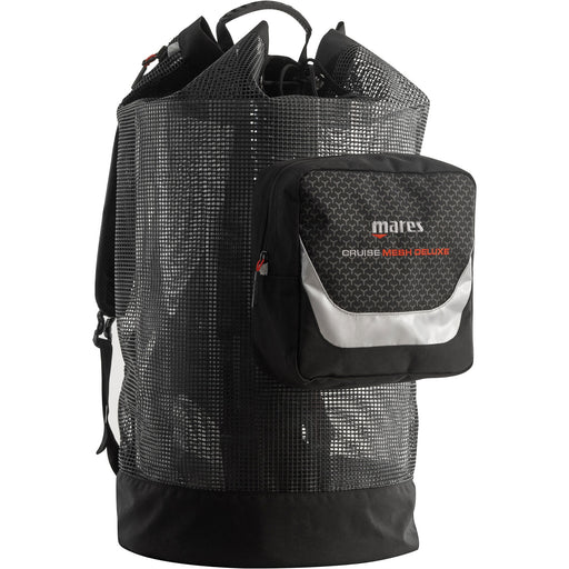Mares Cruise Backpack Mesh Deluxe Bag, Black - DIPNDIVE