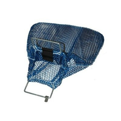 Trident Galvanized Wire Handle Blue Small Mesh Bags - DIPNDIVE
