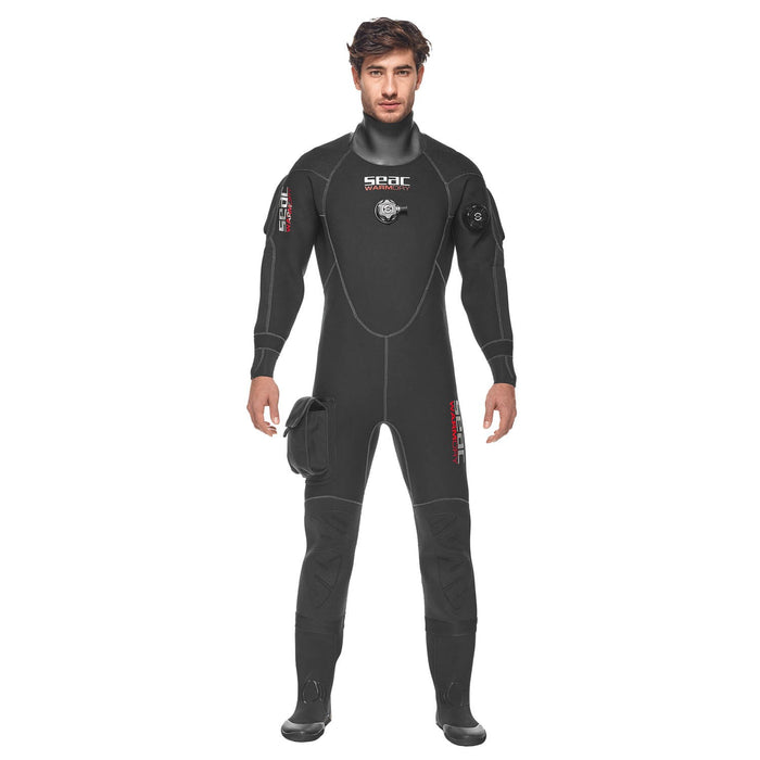 Seac 4mm Men's Warmdry Neoprene Dry Suit - DIPNDIVE