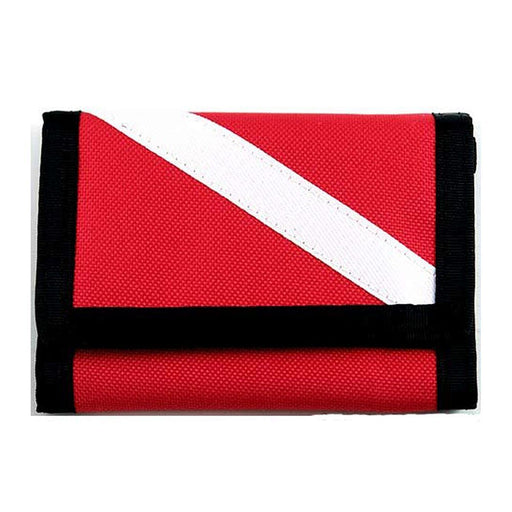 Innovative Scuba Diver Down Flag Wallet Accessories - DIPNDIVE