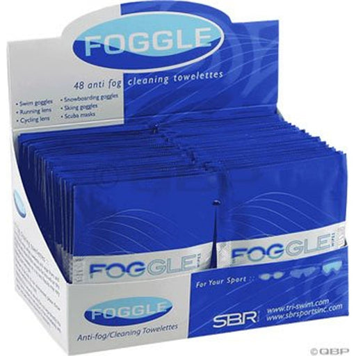 Trident Foggies Anti-Fog Cleaning Towelettes Case of 48 - DIPNDIVE