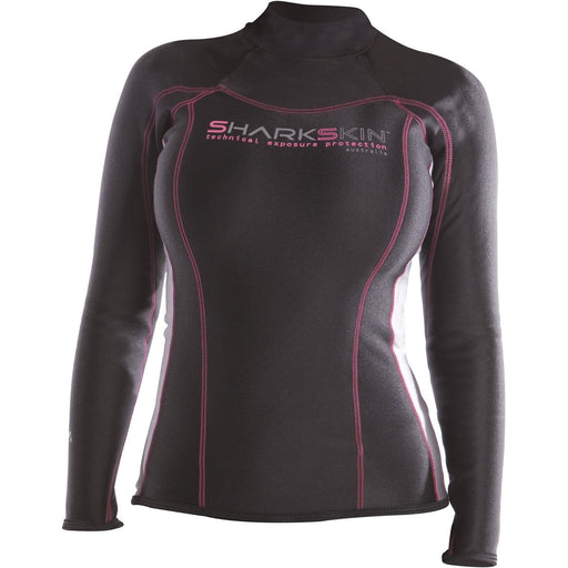Sharkskin Womens Chillproof Long Sleeve Shirt - DIPNDIVE