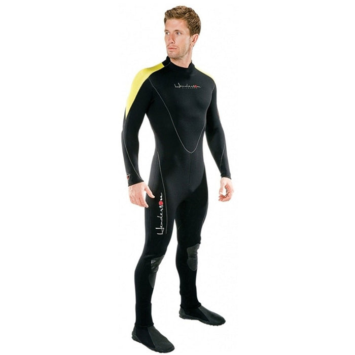 Henderson Man 3mm Thermoprene Jumpsuit (Back Zip) Scuba Diving Wetsuit - DIPNDIVE