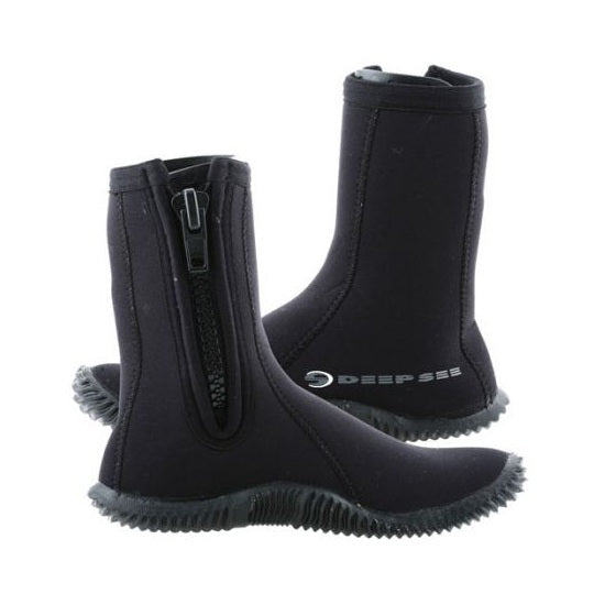 Deep See 5mm Children Echozip Dive Boots - DIPNDIVE