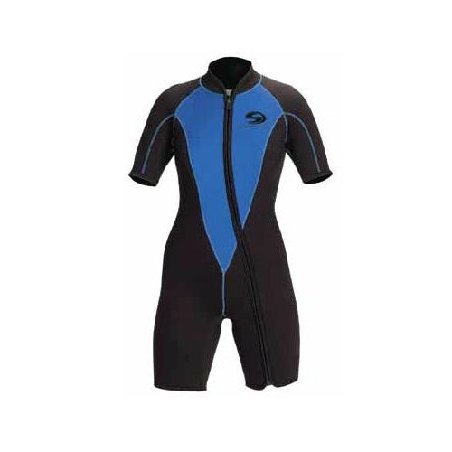 Deep See 3mm Woman Shorty Dive Wetsuit - DIPNDIVE