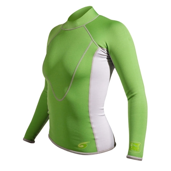 NeoSport XSPAN Women's Long Sleeve Scuba Diving Shirt - DIPNDIVE