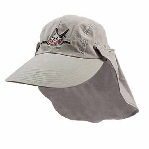 Trident Long Bill Shark Sun Hat - DIPNDIVE