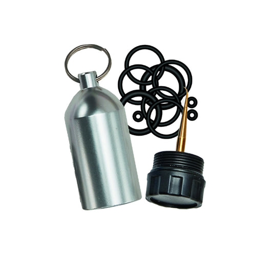 Innovative Scuba Tank KeyChain With O-Rings and Pick - DIPNDIVE