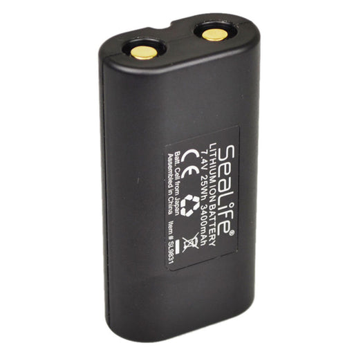 SeaLife Li-Ion Battery for Sea Dragon 1200 and 2000 Photo, Video, Dive Lights - DIPNDIVE