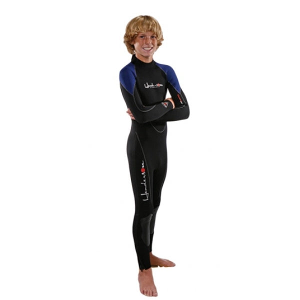 Henderson Junior 3mm Thermoprene Jumpsuit Scuba Diving Wetsuit - DIPNDIVE