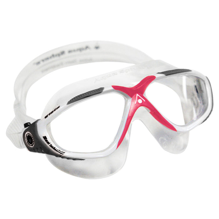 Aqua Sphere Vista Ladies - Clear Lens Scuba Mask Goggles - DIPNDIVE
