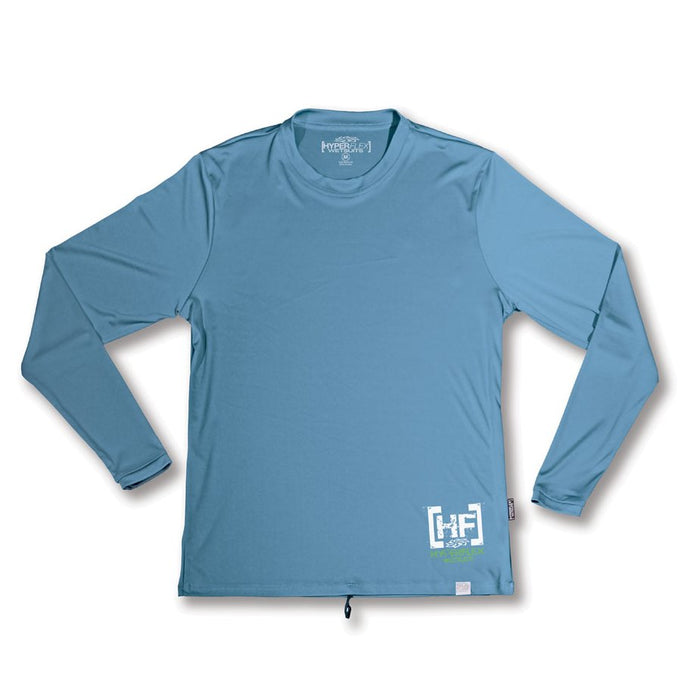Hyperflex Child Boy Coolmax® Block LS Long Sleeve Water Tee Watershirts - DIPNDIVE