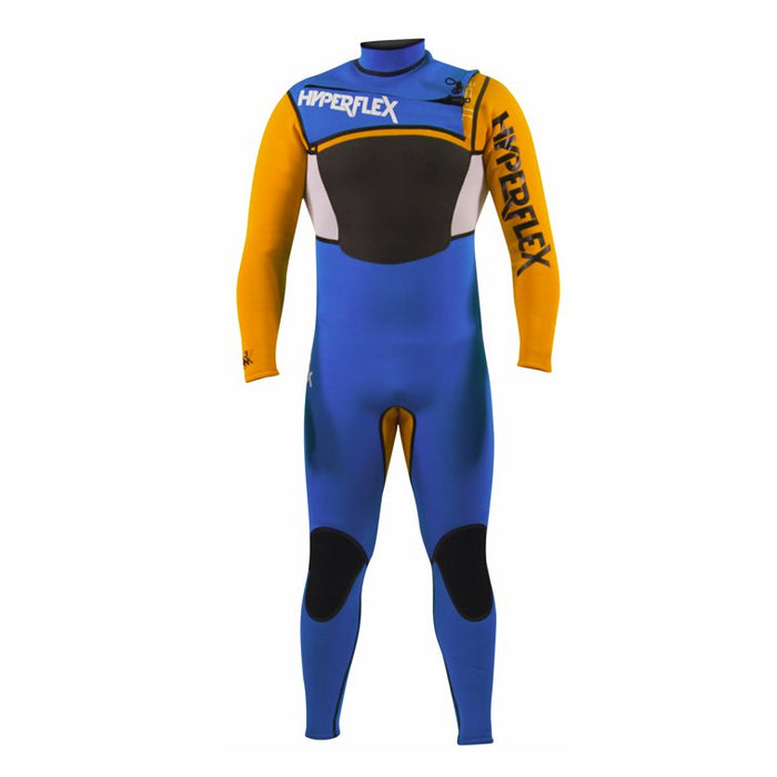 Hyperflex AMP Man 4/3 Surf Series Limited Edition Team Suit Front Zip Wetsuit - DIPNDIVE