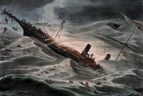 central america sinking