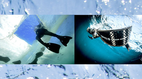 cold water fins vs warm water fins