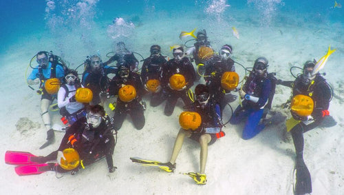 Halloween Tradition for Scuba Divers