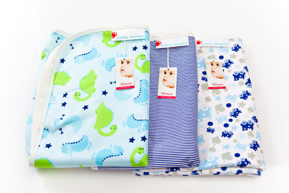 Anytime, Anywhere essential baby mat (Smooth PUL)