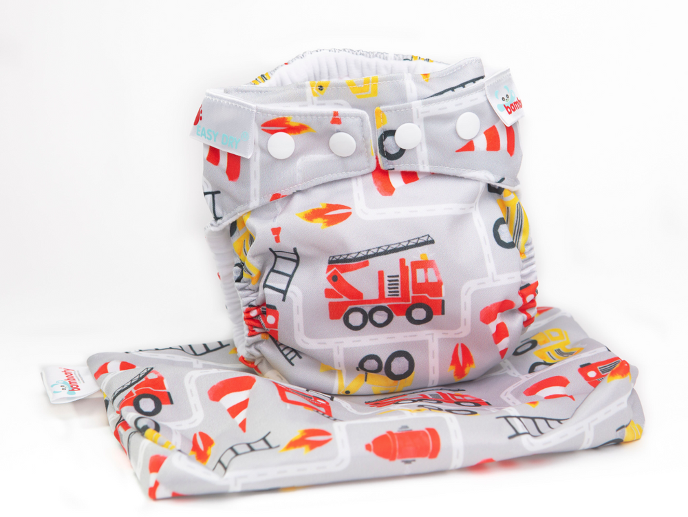 All in One - Easy Dry - Bamboo Nappies - Nee Naw