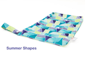 Summer Shapes - Large Wet-bag with handle